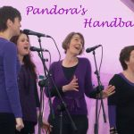 Pandora's Handbag - an acapella harmony singing group consisting of four women - Clare Elleray, Annette McMillan, Helen Towler and Rachael Wadey